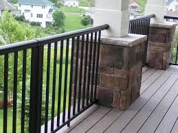 metal porch railings plan railing stairs and kitchen design