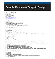 resume for graphic designers graphic design cv examples pdf military bralicious co