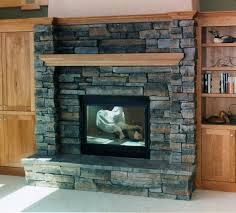 good cultured stone fireplace