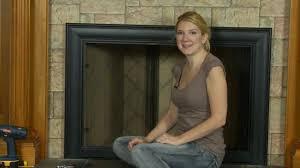 Celebrity Fireplace Door - How to Install - YouTube