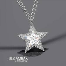 star diamond pendant from bez ambar