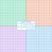 to scale graph paper coloured graph paper pattern vector free download