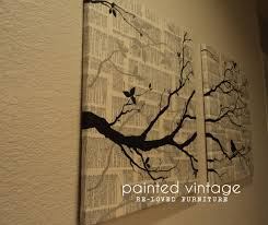 Diy Wall Decor Diy Wall Art For Under 800 Painted Vintage