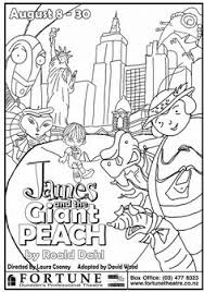 Small Picture James and the Giant Peach Coloring Page or Book Cover Great