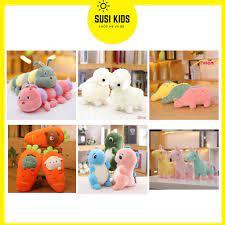 Đáng Yêu] Thú Bông Cho Bé Trai Bé Gái Gấu Đồ Chơi Trẻ Em 3 6 9 12 Tháng 1 2  4 Tuổi - Susi Kids tốt giá rẻ