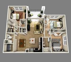 d open floor plan bedroom bathroom inspirations 4 house design 3d