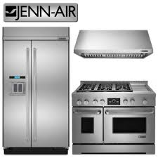 jenn air refrigerator side by side. jennair pro style 42 inch side x refrigerator 48 wide gas range and 1200 cfm rangehood jenn air by