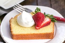 Glazed Lemon Pound Cake That Skinny Chick Can Bake