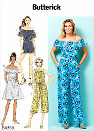 Women's Romper Pattern Cool Sewing Pattern Women's Jumpsuit Pattern Women's Romper Pattern Off