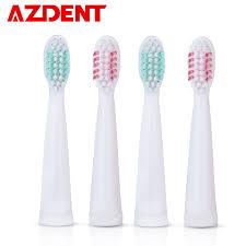 4 Pcs/lot Toothbrush Heads suit for <b>AZDENT AZ 3 Pro</b> Sonic Electric ...