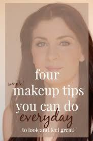 4 simple makeup tips