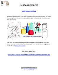 math assignment help by bestassignment issuu