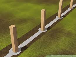 image titled build a wood retaining wall step 9