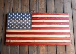 usa flag photo frame southern standard co old glory board handmade wooden american flag