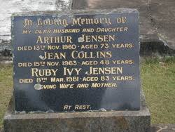Ruby Ivy Jensen (Unknown-1981) - Find A Grave Memorial