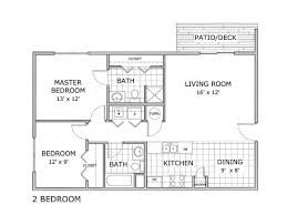 all floor plans2 bedroom ph 1