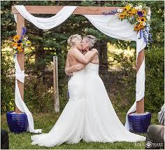At Home Wedding Ideas On A Budget The Prettiest Outdoor Wedding Summer Backyard Wedding