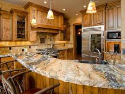 Rustic Granite Countertops Kitchen Hickory Kitchen Cabinets Wholesale Best Theme Rustic