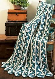 Mile A Minute Crochet Afghan Patterns Awesome Braided MileAMinute Crochet Afghan Patterm EPattern LeisureArts
