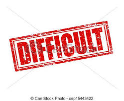 Image result for difficult word