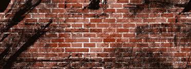 brick wall graffiti banner background