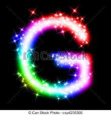 letter g colorful alphabet letter g 3d rendered illustration of a stock