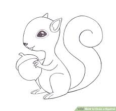 Small Picture 4 Easy Ways to Draw a Squirrel with Pictures wikiHow