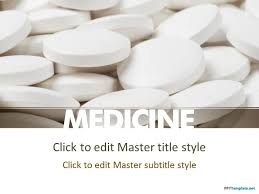 Medical Powerpoint Background Free Pharma Medicine Ppt Template