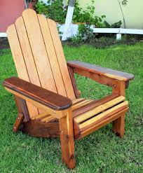 custom adirondack redwood folding chair made in u s a