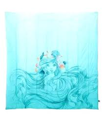 little mermaid bed set little mermaid comforter set queen and sheet twin little mermaid bed set