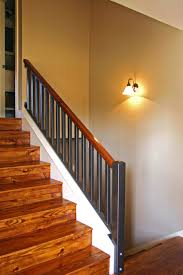 Split-Level Stairs After beach-style-staircase