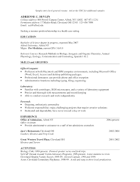 Certified Nurse Assistant Resume Skills Explication Essay Musee