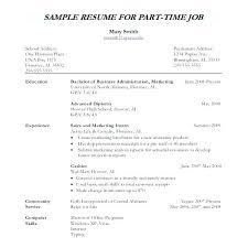 A Simple Resume Sample Simple Resumes Samples Basic Resume Samples ...