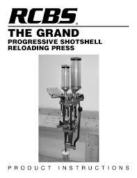 Rcbs The Grand Press Manualzz Com