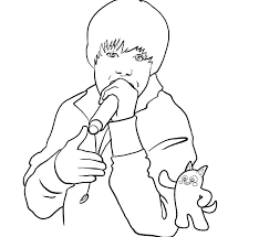 coloring pages to print out. Fine Coloring Justin Bieber Coloring Pages To Print Out Page Picture 3 With Coloring Pages To Print Out T