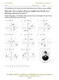 writing equations in slope intercept form worksheet answer key