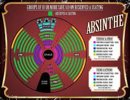 Absinthe Las Vegas Seating Chart Absinthe Seating Chart Seating Chart