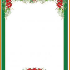 Christmas Letter Stationery Template Best 12 Free Online Christmas