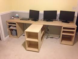 build office desk. Home Office Desk Build: Finished! (For Now) Build