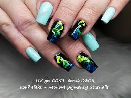Neonový Pigment Modrý Třpytivý P242 Doprodej