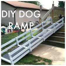 outdoor dog ramp for deck stairs k on cat diy