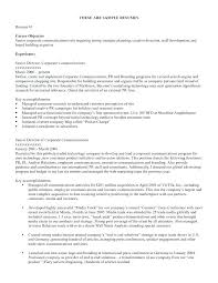 Resumes Objectives resume Examples Of Resumes Objectives 44