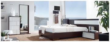 cute modern contemporary furniture design ideas with dark brown wooden bed frames and headboard also white amazing latest italian furniture design