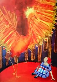 """James Mayhew 🎨🇪🇺 🌈 on Twitter: """"#BookIllustrationOfTheDay is by Anne  Wilson for """"Masha and the Firebird"""" (Margaret Bateson-Hill, 1999).  Something suitably fiery for this hot weather... These vibrant paintings  bring a richness"""