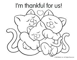 I Am Thankful Coloring Pages Printable Thanksgiving For Turkey Movie