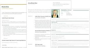 Resume Maker Free Online Interesting On Line Resume Llun