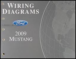 2009 ford mustang wiring diagram manual original