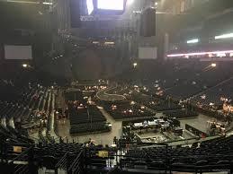 Bridgestone Arena Seating Chart Basketball Bridgestone Arena Section 120 Concert Seating