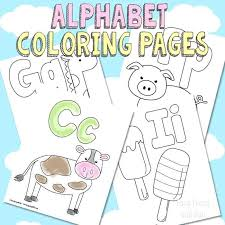 Coloring Free Printable Sheets Alphabet Coloring Pages Free