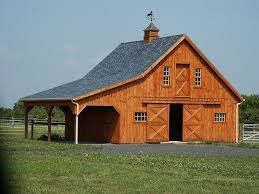 small barn plans wood